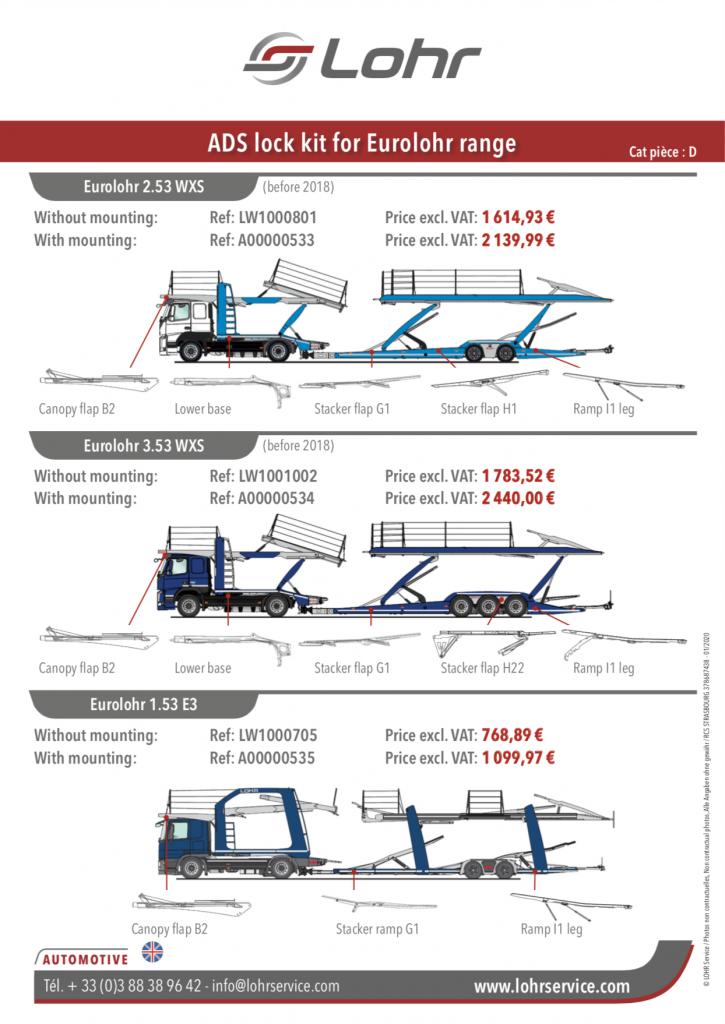 Flyer Kit ADS by Lohr Service
